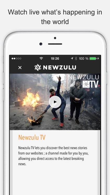 Newzulu, you break the news