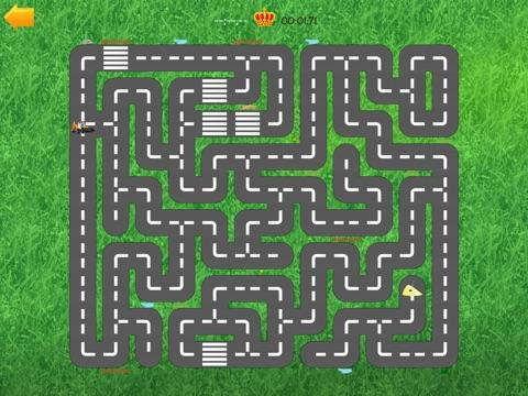 Скачать игру Автомобили дорога лабиринт - смешно бесплатные образовательные форма комбинационной игры для детей мальчиков малышей и детей дошкольного