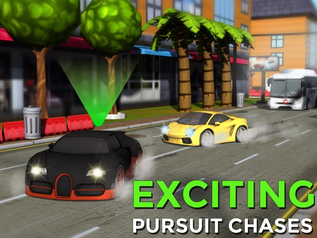 Hotfoot - City Racer Screenshot