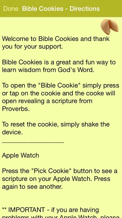 Bible Cookies screenshot-3