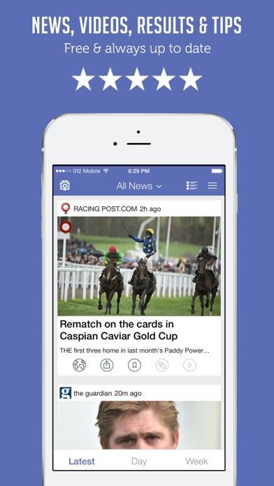 Horse Racing News & Videos - Sportfusion screenshot one
