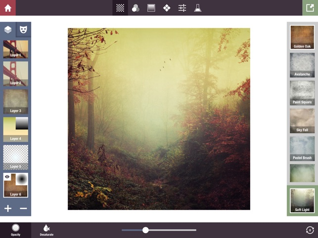 Stackables for iPad - Layered Textures, Effects, and Masks Screenshot