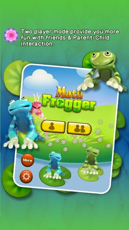 Math Frogger - Math Siege Advance Educational Game for kids