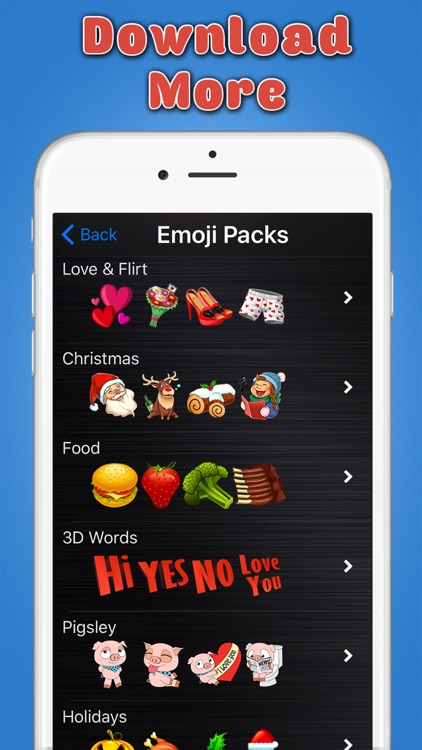 Big Emoji Keyboard - Stickers for Messages, Texting & Facebook screenshot-4