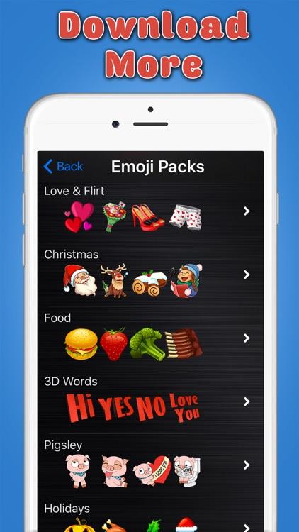 Big Emoji Keyboard - Stickers for Messages, Texting & Facebook screenshot-4