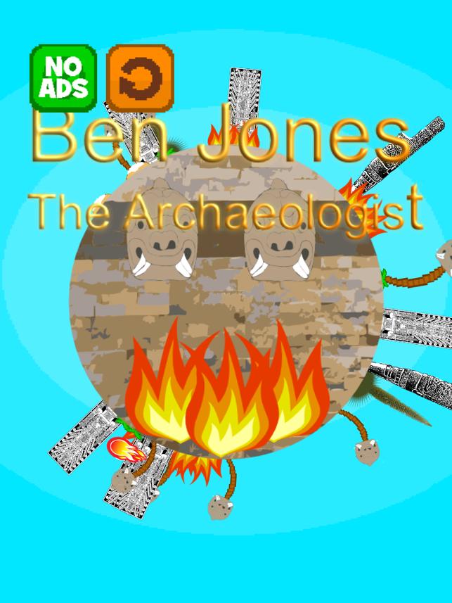 Ben Jones the Archaeologist, game for IOS