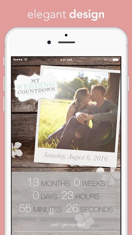 My Wedding Countdown