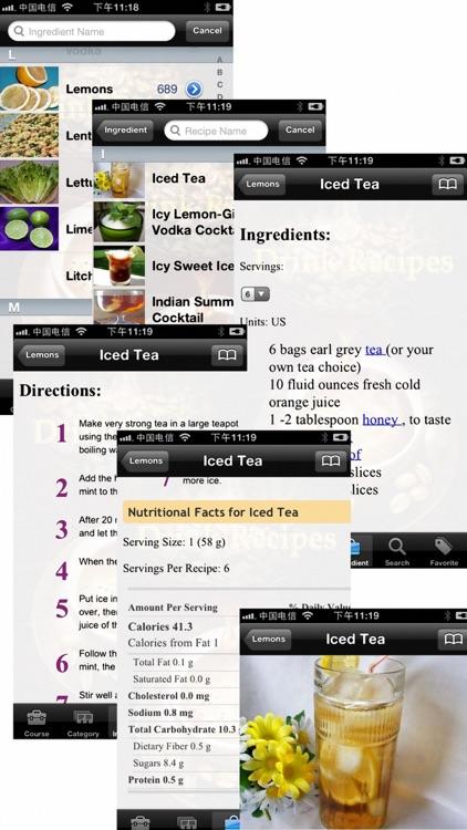 10000 Drink Recipes screenshot-3