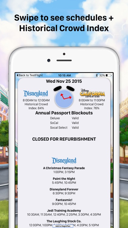 MouseWait for Disneyland Wait Times Platinum Insider's Guide to Disneyland screenshot-4