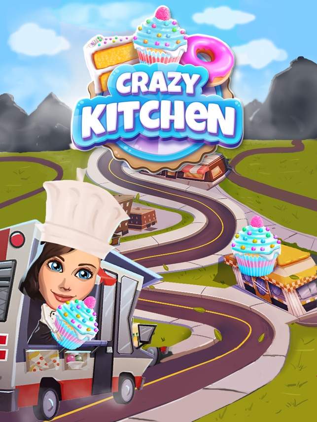 Crazy Kitchen: Match 3 Puzzles on the App Store
