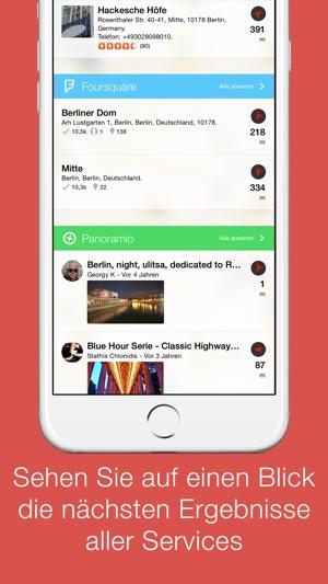 localscope finden sie orte und personen in ihrer n he im app store. Black Bedroom Furniture Sets. Home Design Ideas