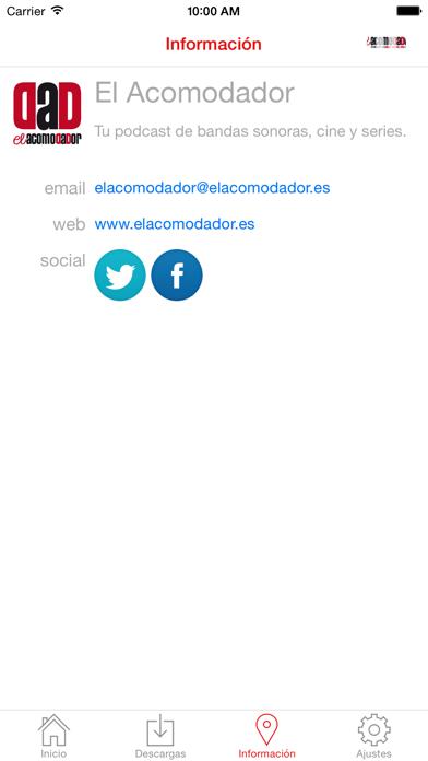 El Acomodador Screenshot