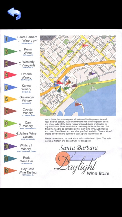 Santa Barbara Tour Guide: Best Offline Maps with StreetView and Emergency Help Info screenshot-1