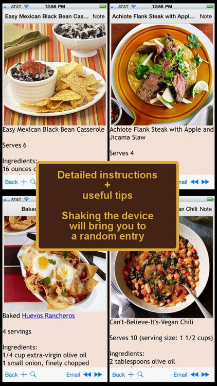 Mexican Cuisine Recipes screenshot-0