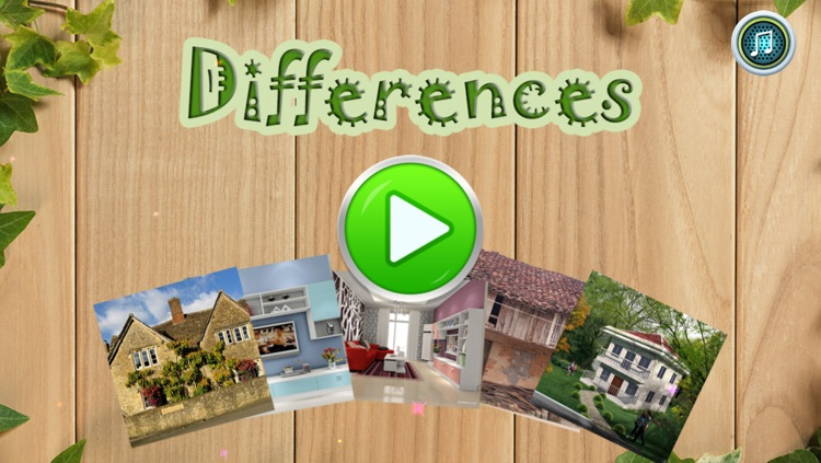 Spot Difference: House