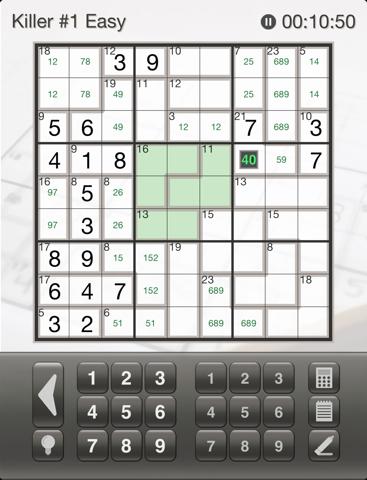 Sudoku Killer  screenshot