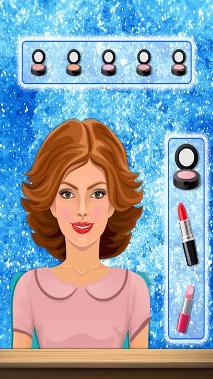 Icy Princess Makeover Salon - A royal party salon dress up and makeup game for teen girls