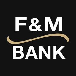 Mobile Banking, F & M Bank for iPad