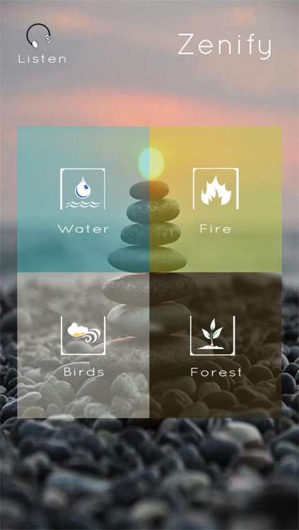Relax Music Pro - Zen Melodies, White Noise & Nature Sounds for Meditation, Positive Thinking, Relaxation, Yoga and Sleeping
