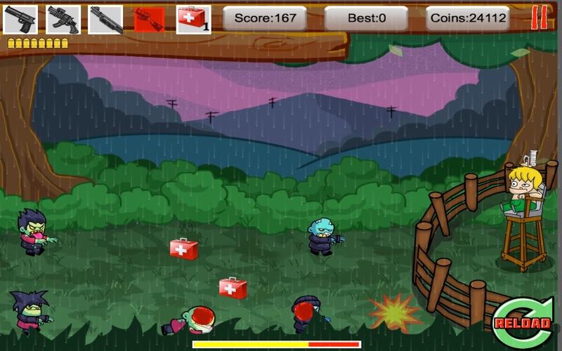 Tiny Zomby The Barricade screenshot 4