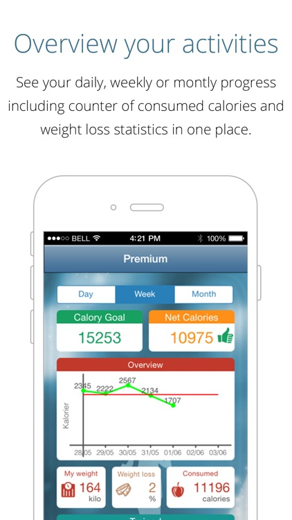 Calorie Counter Free - lose weight, gain fitness, track calories and reach your weight goal with this app as your pal screenshot-4