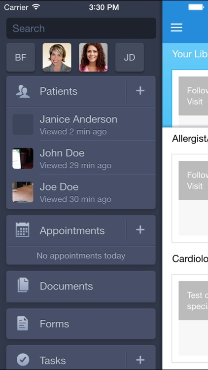 Medlium EMR / EHR - Medical Record screenshot-2