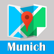 Munich Map offline, BeetleTrip subway metro street pass travel guide