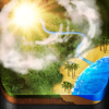 XLabz Technologies Pvt. Ltd. - Weather Cast HD : Live World Weather Forecasts & Reports with World Clock for iPad & iPhone アートワーク