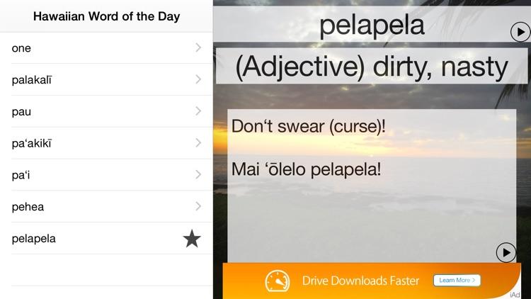 Hawaiian Word of the Day Lite