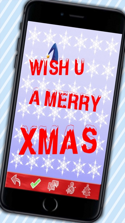 Create Christmas Greetings - Designed Xmas cards to wish Merry Christmas and a happy New Year screenshot-3