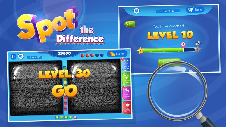Spot The Difference! - What's the difference? A fun puzzle game for all the family screenshot-4