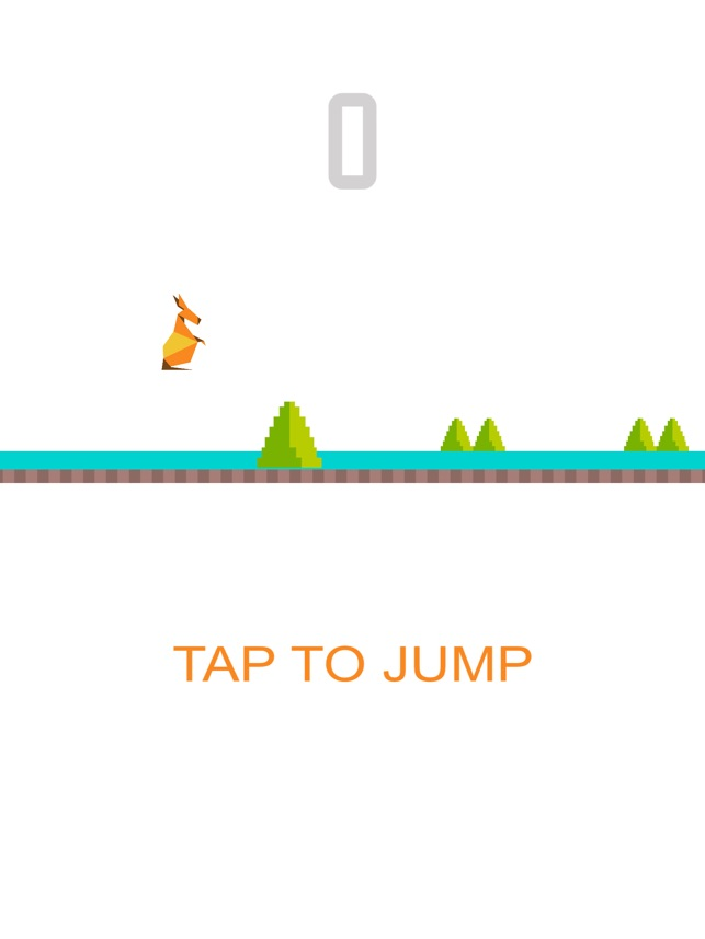 Jumpy Kangaroo Screenshot