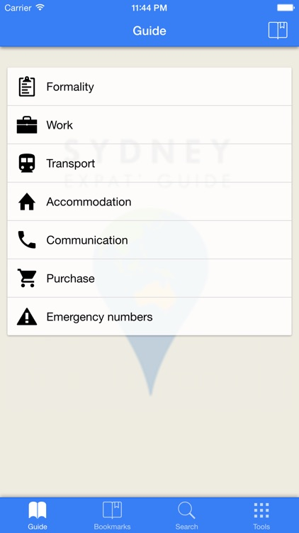 Sydney Expat Guide screenshot-0
