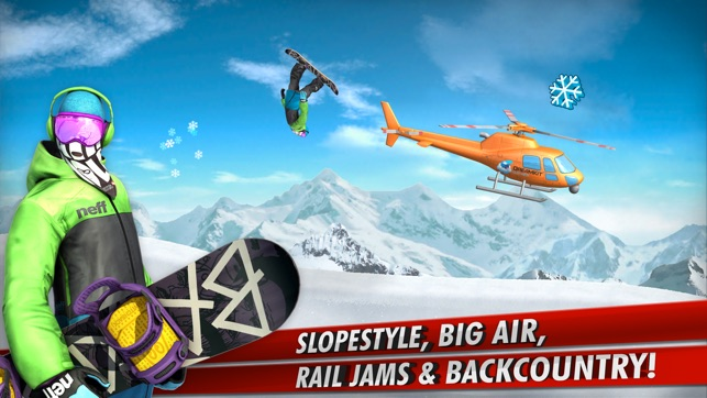 SuperPro Snowboarding Screenshot