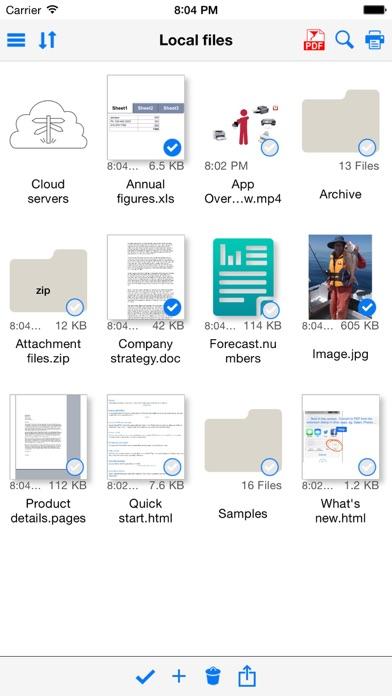 Save2PDF for iPhoneのおすすめ画像1