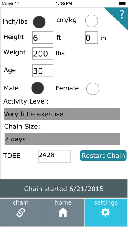 Don't Break The Diet Chain screenshot-3