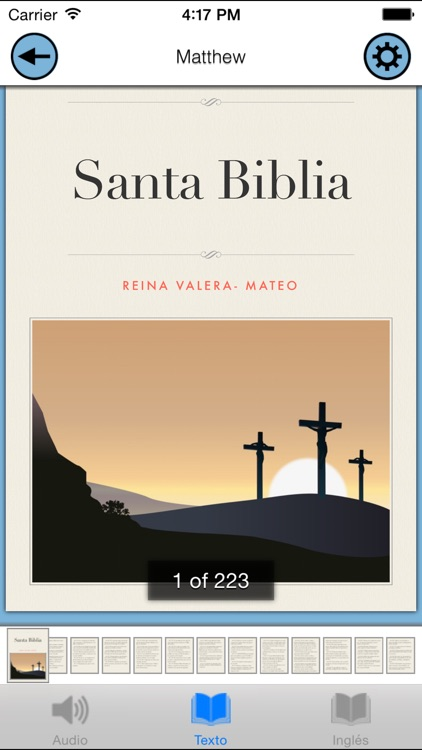 Santa Biblia Audio - Reina Valera en Español screenshot-4