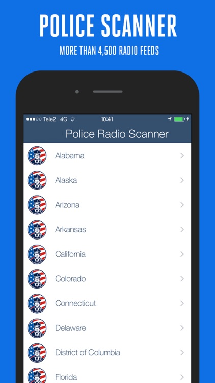 Police Radio Scanner + screenshot-3