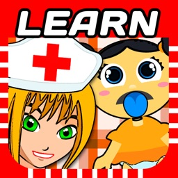 Newborn Doctor and Nurse Clinic & Daycare - preschooler maternity teaching games ( 2 yrs + )