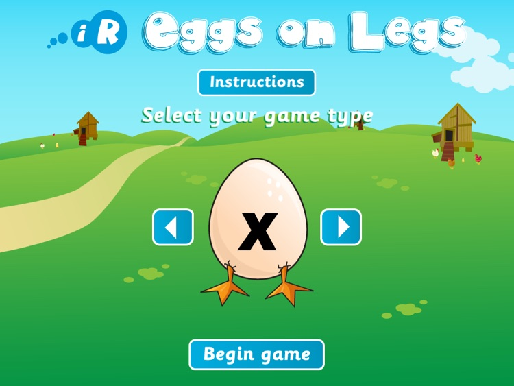 Eggs on Legs for iPad