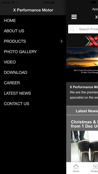 X Performance Motor screenshot two