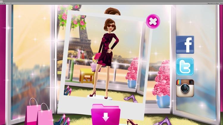Dress Up Game for Girls: Fantasy Boutique - Paris Fashion Makeover Girls Games