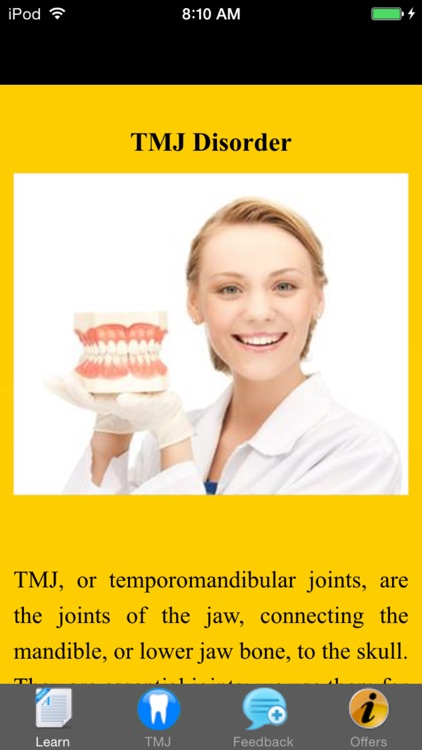 TMJ Disorder - Suggested Treatment & Remedies screenshot-3