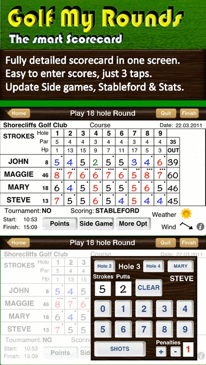 Golf My Rounds LITE