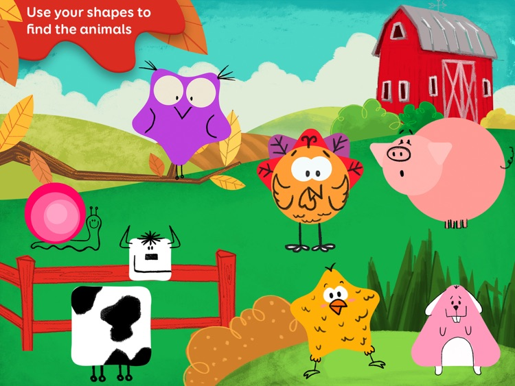 Tiggly Safari: Preschool Shapes Learning Game screenshot-0