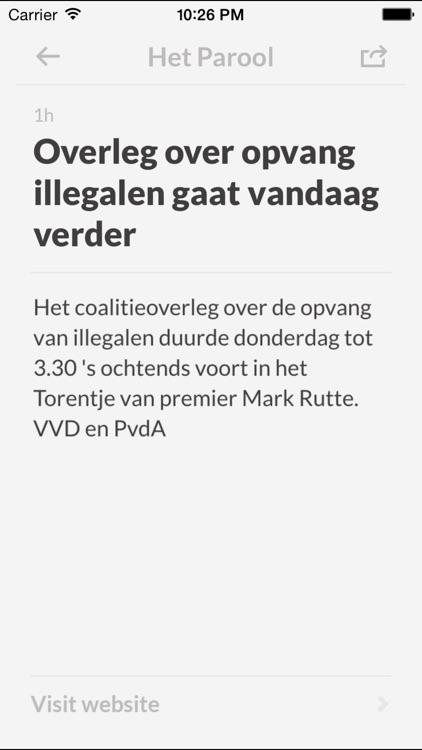 Kranten NL screenshot-3
