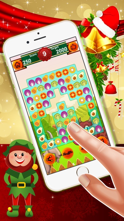 Farm Country : - A match 3 puzzle game for Christmas holiday season !