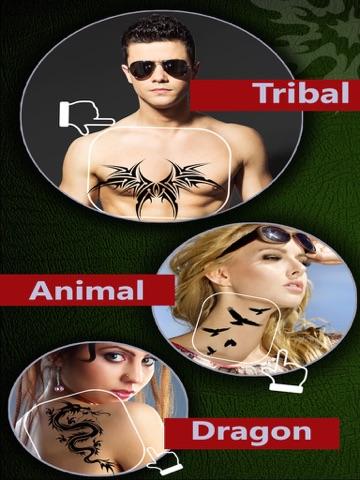 Tattoo Yourself - Beautiful Tattoos Designs For Men & Women Body Art,Free screenshot