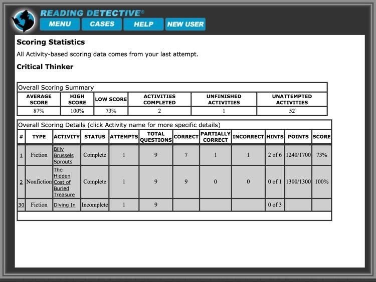 Reading Detective® B1 screenshot-4