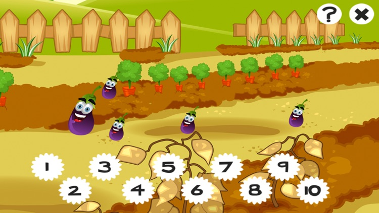 A Garden Counting game for children: Learn to count the numbers 1-10 screenshot-4
